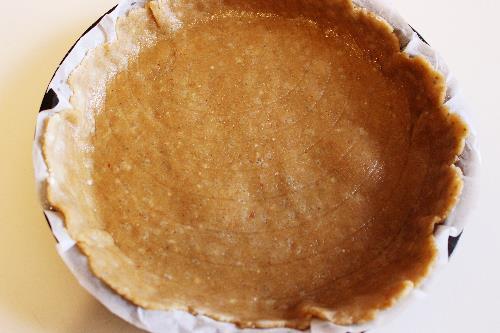 Crostata farina di quinoa e mandorle