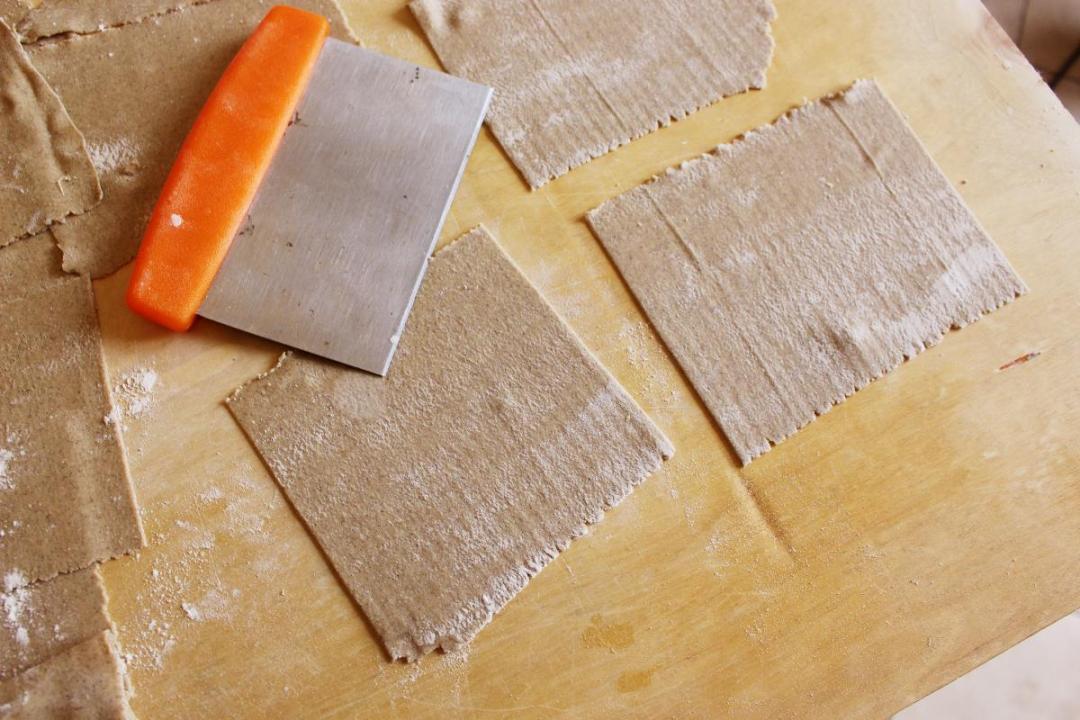 Lasagne di grano saraceno pasta fresca