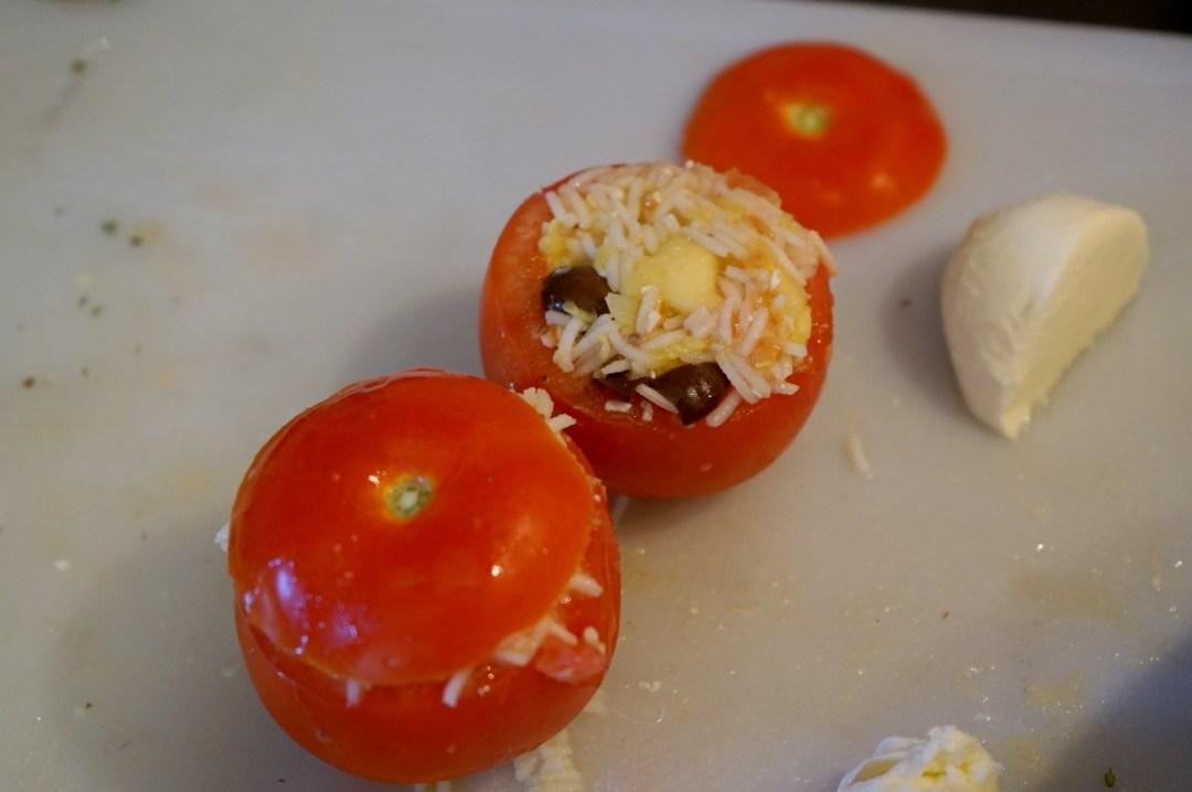 Pomodori ramati ripieni di riso