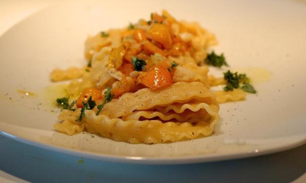 Pasta merluzzo e peperoni – un primo da gourmet