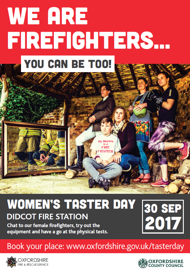 WOMENS FIREFIGHTER TASTER DAY