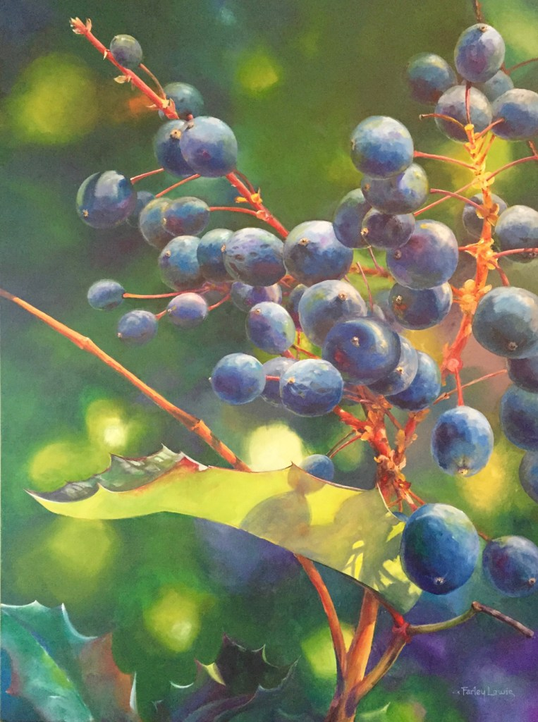 Radiant Blueberries