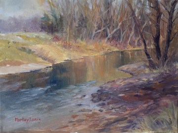 Creek in Winter Apparel