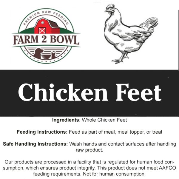 Farm 2 Bowl raw chicken