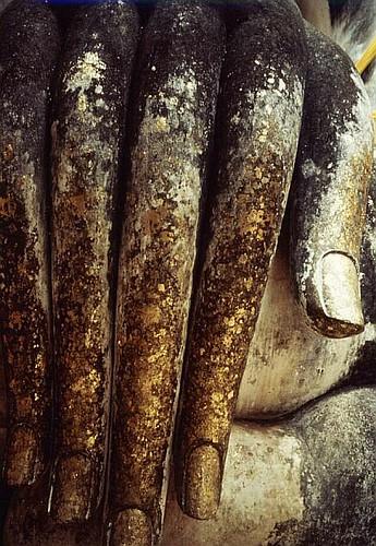 thailand buddha hand