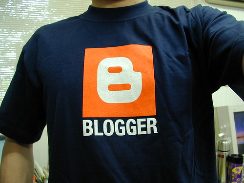 Blogger TShirt by kengo