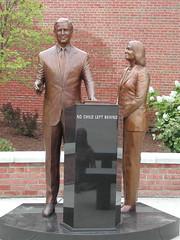 """No Child Left Behind"" sculpture (pa..."