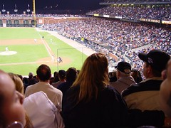 Random People at the Giants Game