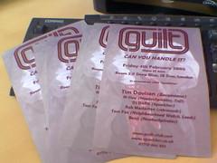 guilt flyers