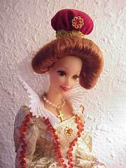 Elizabethan Queen Barbie