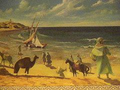 Paintings of Arabic scenes by Cliff Gokenbach ...