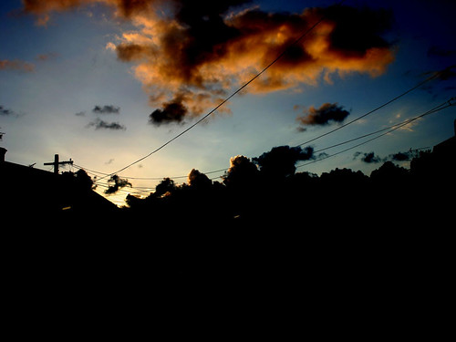 Sunset in Erskineville by Was
