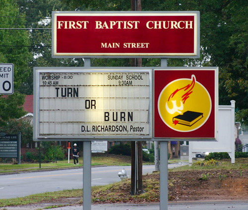 If you ask me, the Church needs to do some turning.  Via Afroswede @Flickr.