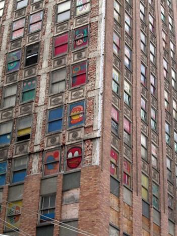 Downtown Detroit building