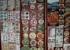 Menús en cientos de idiomas.