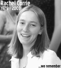 Rachel Corrie, Run over by Israeli Bulldozer