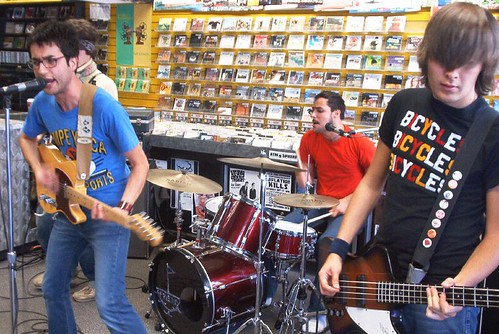 Meligrove Band live! in-store performance at Music Trader on September 26 2005