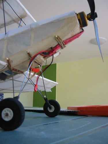 Aeroplane Engine Takes Battery-ing