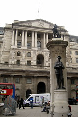 UK - London - The City: Bank of England and Fi...