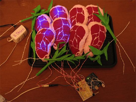 arduino pwm glow steaks