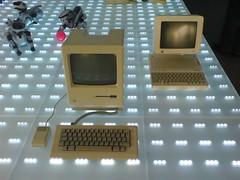 Mac 128 and Mac IIc
