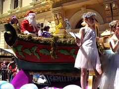 Santa Claus, Christmas Parade, Lambton Quay