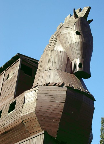 Réplica do Cavalo de Tróia
