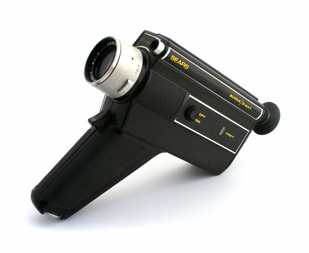 Sears C-128 Super Eight Movie Camera