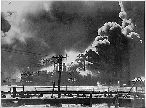 Public Domain: WWII: Pearl Harbor Attack (NARA)