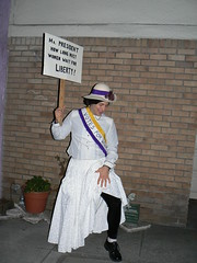 Suffragist Halloween Costume