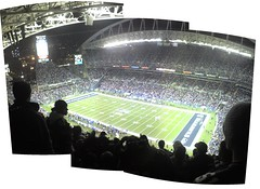 NFL Game.  Seahawks vs Dallas (playoffs)