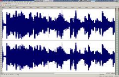 Editing an audio file