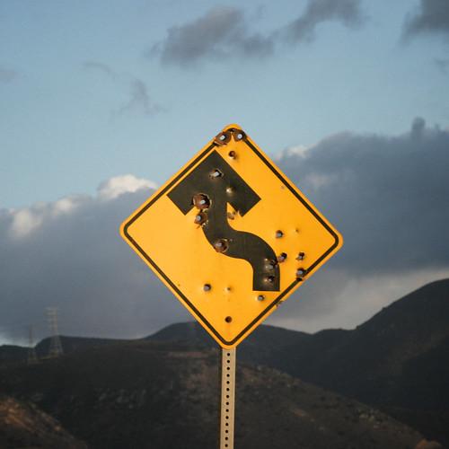 beware of the road
