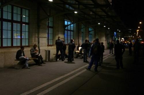 Abt. Pfründe & Häscher: Razzia am Bahnhof