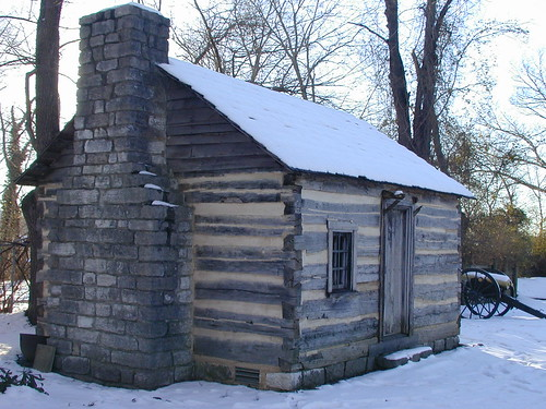 Slave cabin on Carter House grounds