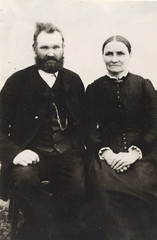 1905 Parents of Frans - Anders Björn and Beata Hultgren