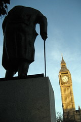 UK - London - Westminster: Parliament Square -...
