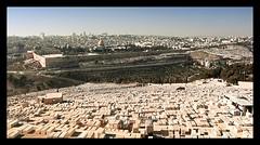 Panoramic Vision of Jerusalem, Israel