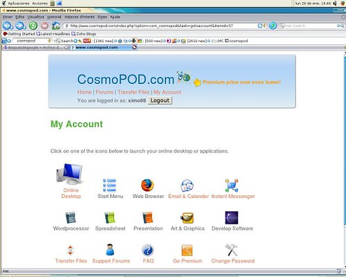 Cosmopod
