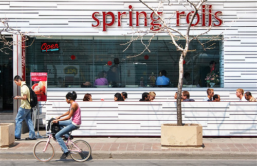 spring rolls exterior daytime by wvs
