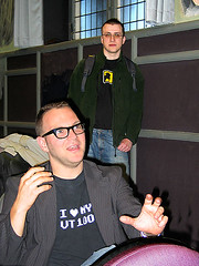 Cory Doctorow and Jon Lech Johansen