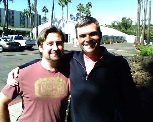 Jared Evans and Me at CIT