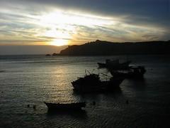 [封面] 東引中柱港的夕陽