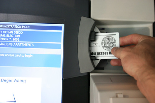 Electronic Voting: Millions of dollars for fancy new machines that only get approved because they print a paper trail. Makes you wonder what's wrong with paper ballots to begin with.