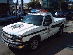 Tijuana police car
