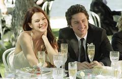 la pareja feliz