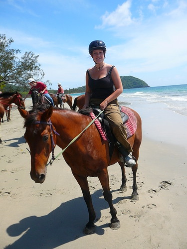 Horse riding in Cape Trib