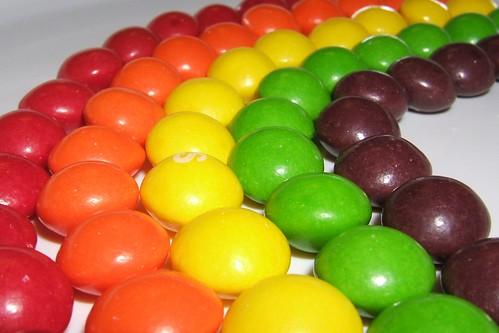 A Rainbow of Fruity Flavor