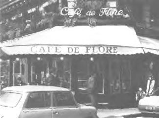 Cafe de Flore, Paris, 1971