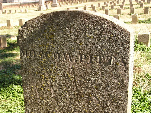 Gravemarker for Moscow Pitts